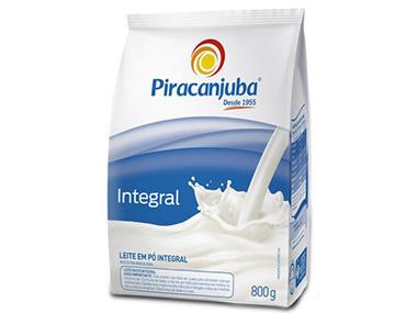 Piracanjuba apresenta leite em pó em embalagens flexíveis