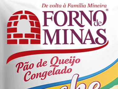 Pão de queijo Forno de Minas ganha embalagem especial para a Copa