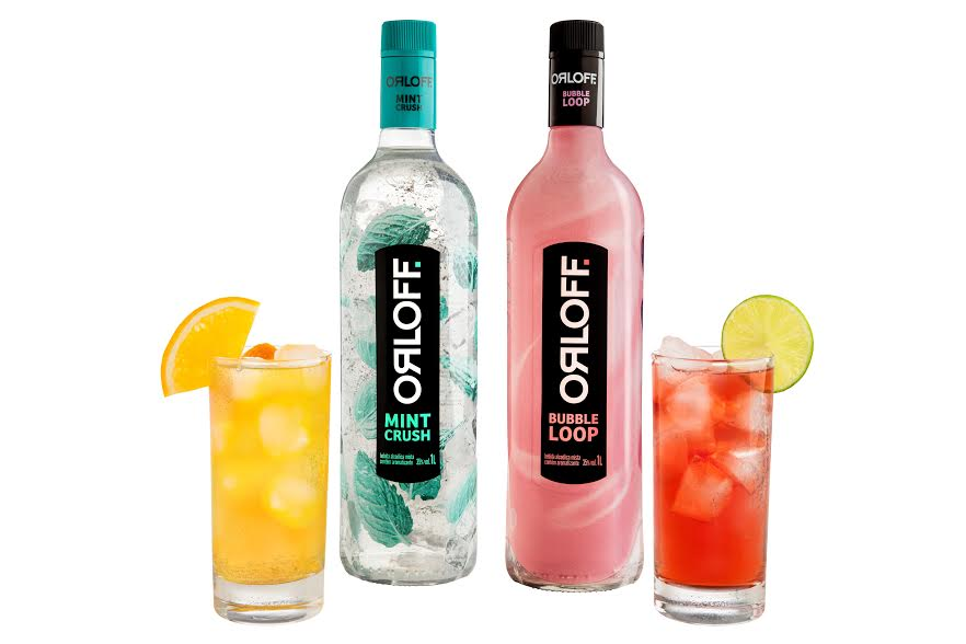 Orloff resgata os bons momentos vividos entre amigos com sabores inusitados de vodka: Tutti Frutti e Menta